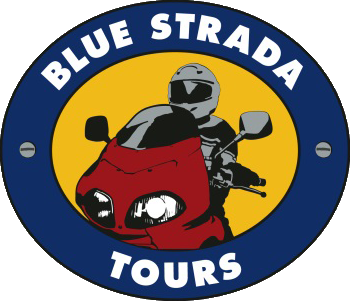 Blue Strada Tours Logo